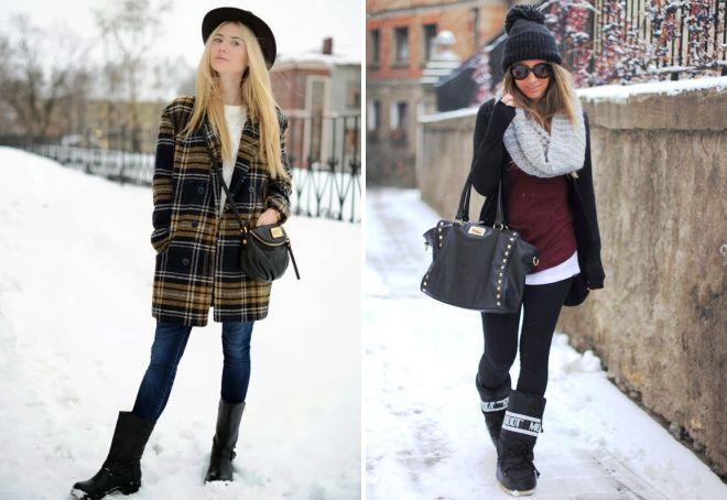 что носить зимой женщинам