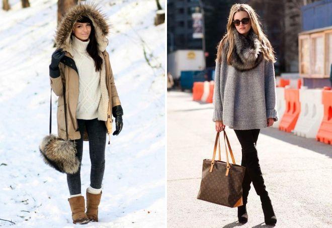 повседневная зимняя одежда для женщин