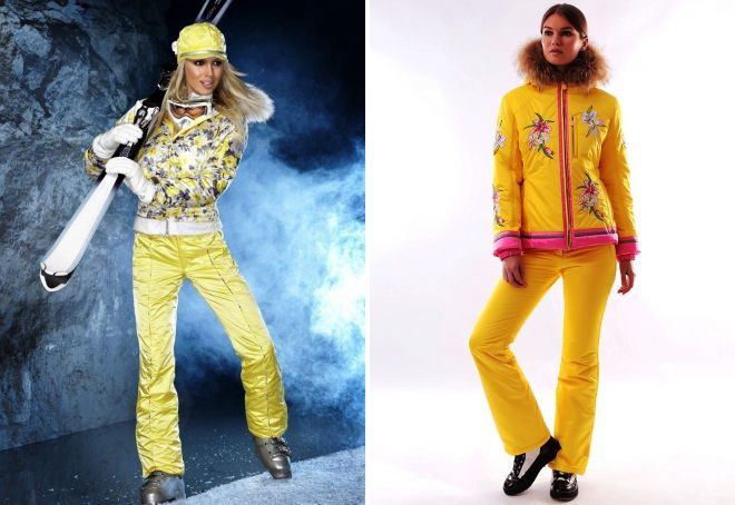 зимняя одежда в спортивном стиле