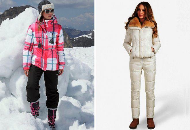 одежда для зимних прогулок