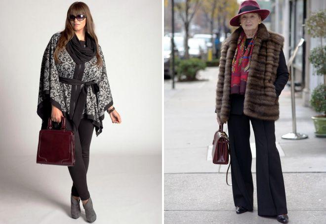 зимняя одежда для женщин после 50 лет
