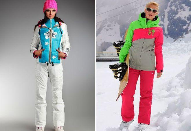 Модные зимние женские горнолыжные костюмы – брендовые Bogner ... ed9a85f46f2