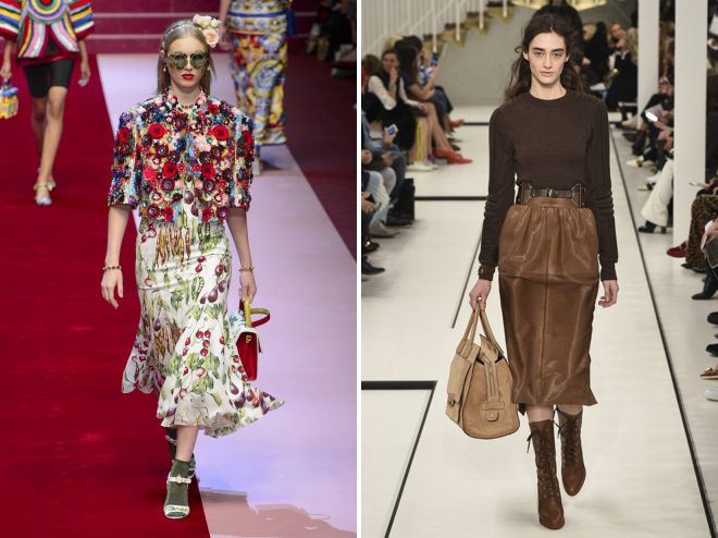 юбки мода 2018