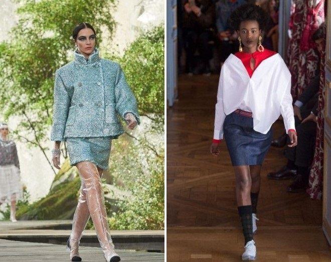jupes de mode 2018 année