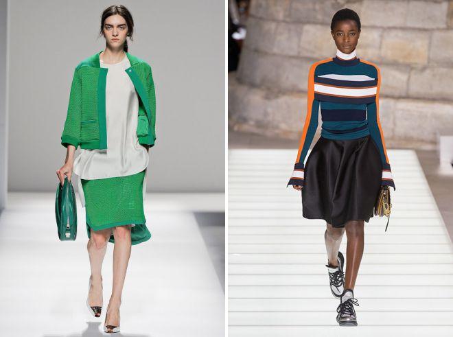 ce que les jupes sont à la mode 2018