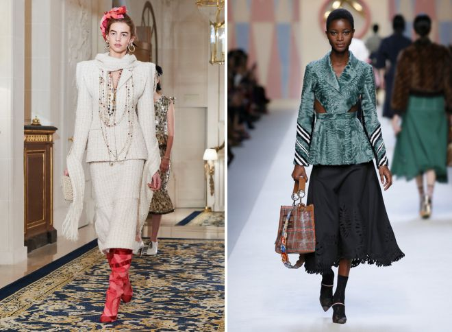 модные женские юбки 2018