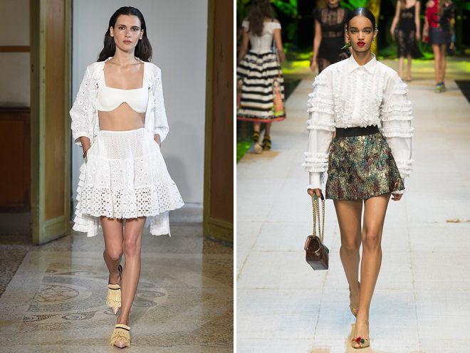 красивые юбки 2018 год
