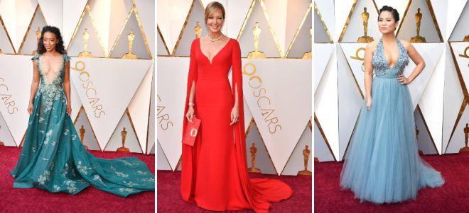 Оскар 2018 платья звезд