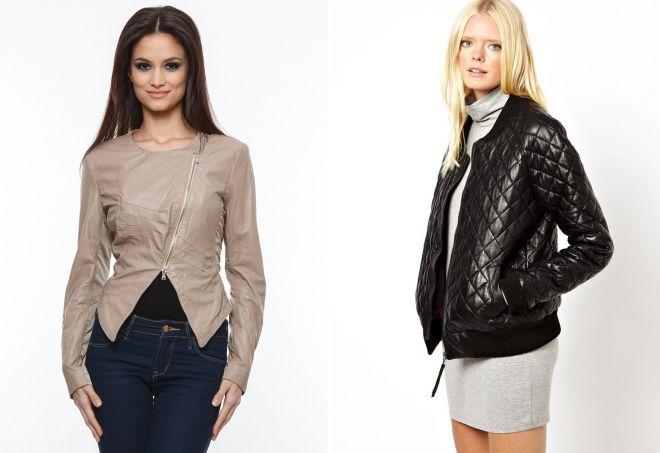 женские кожаные куртки из натуральной кожи 2018
