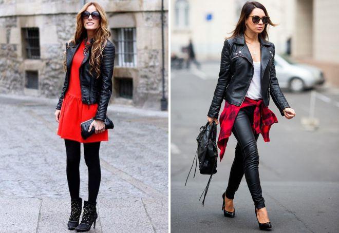 куртки из натуральной кожи для женщин