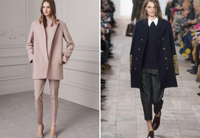 ماذا نرتدي مع معطف قصير مستقيم
