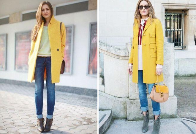 образы с коротким пальто