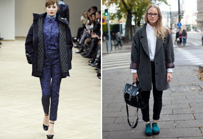 ماذا نرتدي مع معطف قصير الحجم