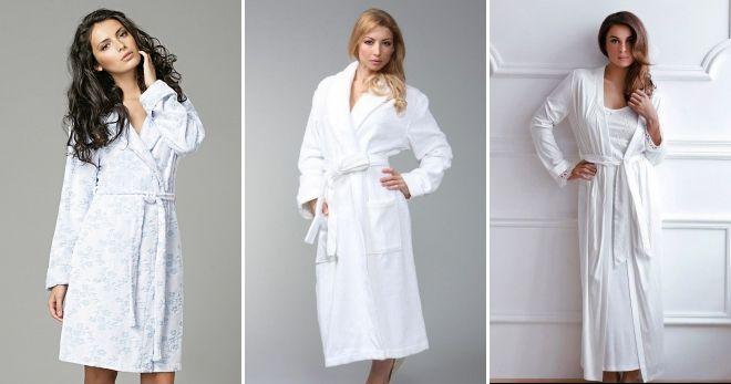 1dd0fcda1adf9 Домашние халаты – махровые, шелковые, трикотажные, велюровые ...