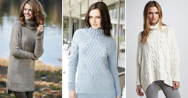 Dugi raglan džemper topao