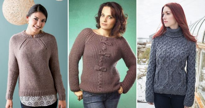 Ženski džemper raglan