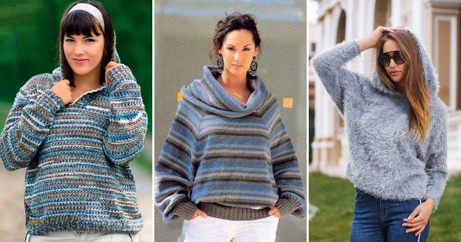 Raglan džemper sa kapuljačom