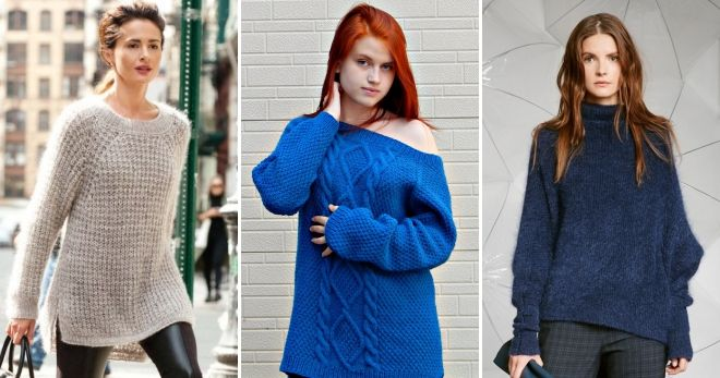 Oversize Raglan Sweater
