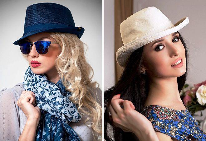 современные шляпки для девушек