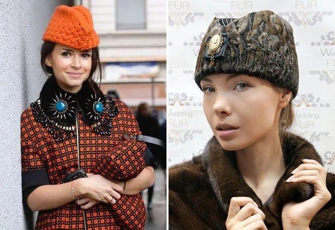 маленькие женские шляпки