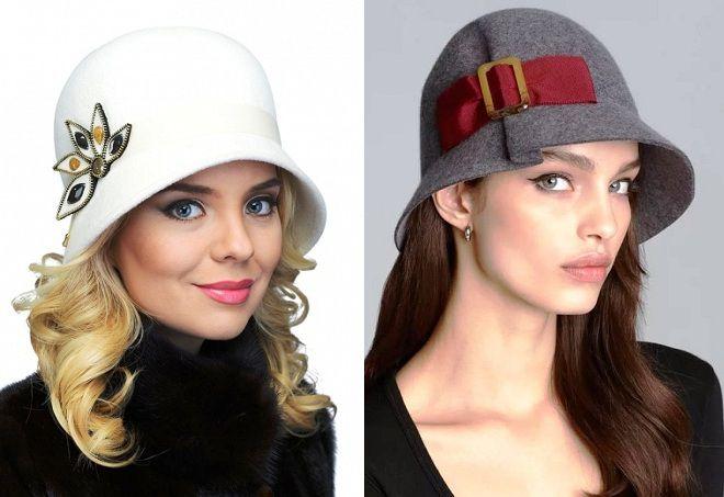 женские шляпки клош