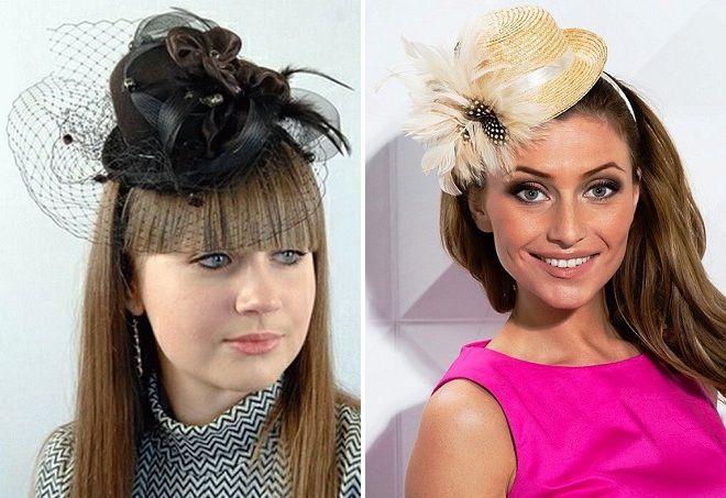 женская шляпка ободок