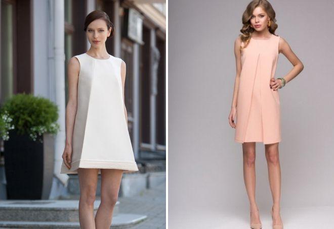 88bdca478b8 С чем носить платье А-силуэта – длинное в пол и короткое