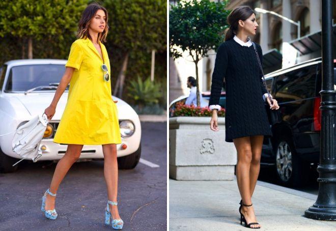 платья а силуэта на каждый день