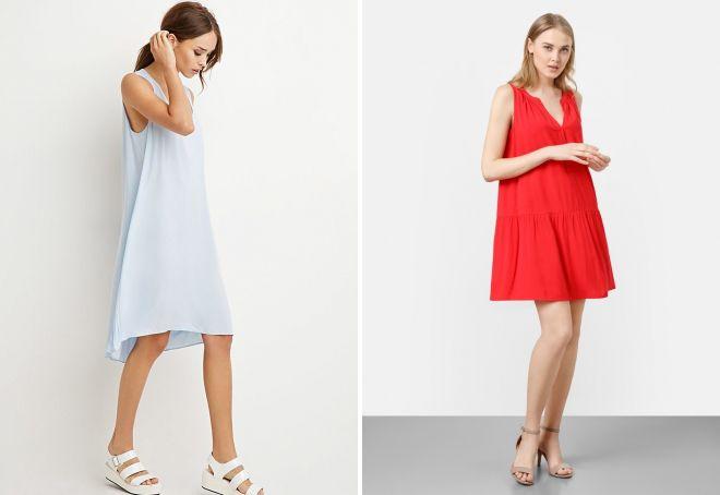 91baf66417a С чем носить платье А-силуэта – длинное в пол и короткое