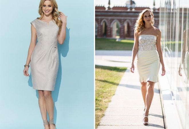 с чем носить белое кожаное платье