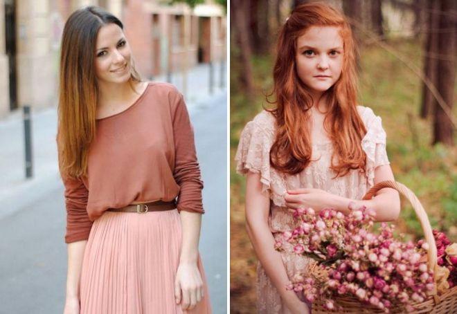 женщина осень цветотип