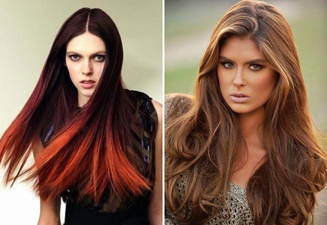 цветотип осень какой цвет волос подойдет