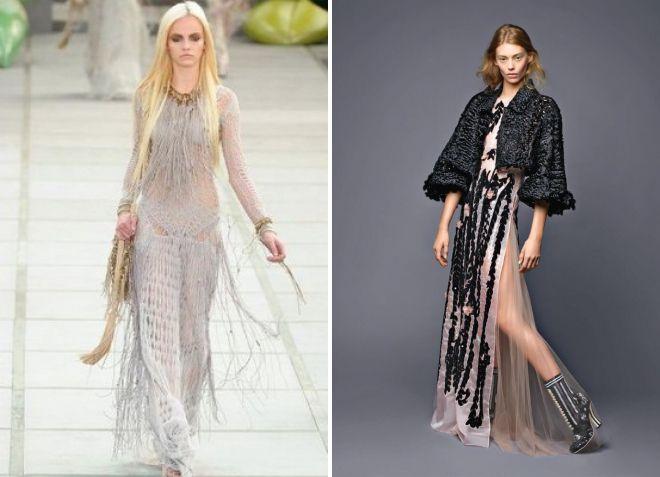 выпускные платья 2018 модные тенденции