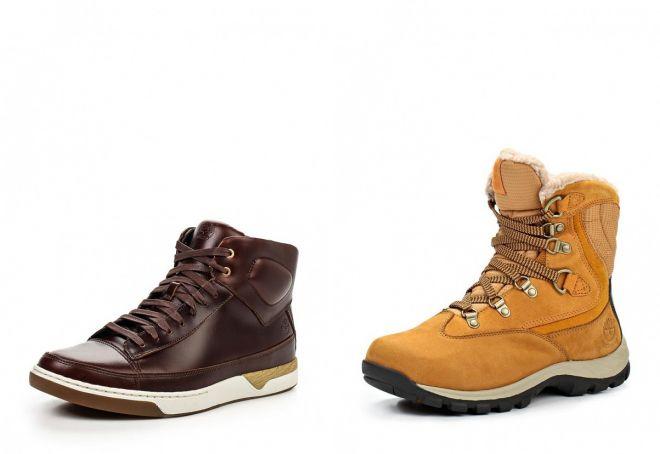 зимние кроссовки Тимберленд