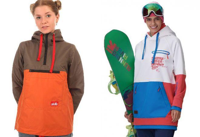 женский анорак для сноуборда