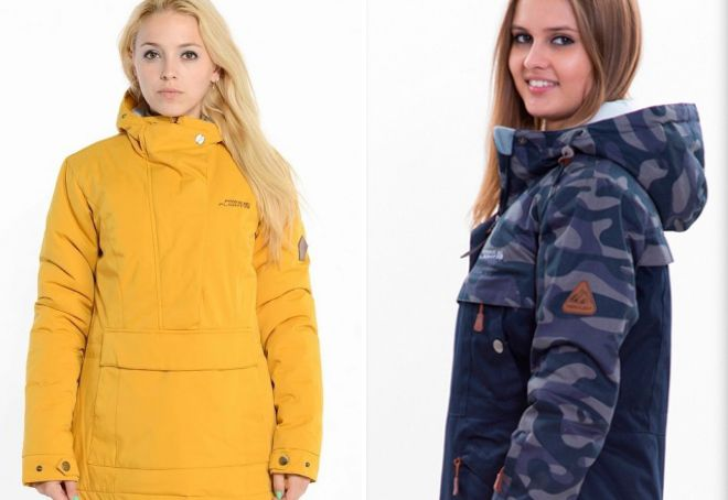 женская зимняя куртка анорак