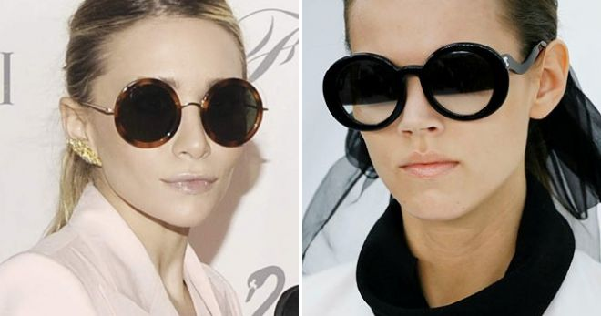 round glasses chanel