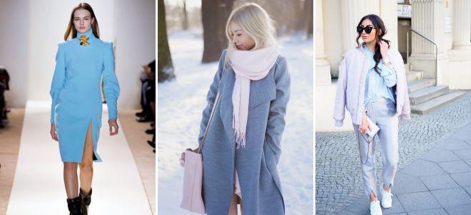 пальто пастельных тонов