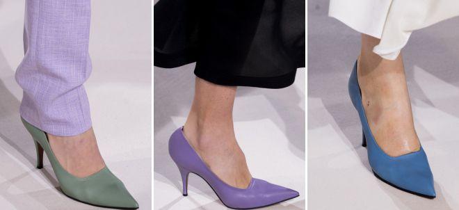 обувь в пастельных тонах