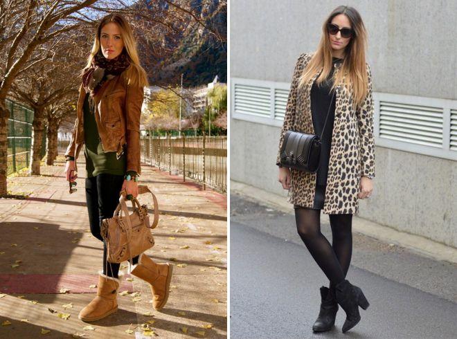 образы уличного стиля с кожаной курткой