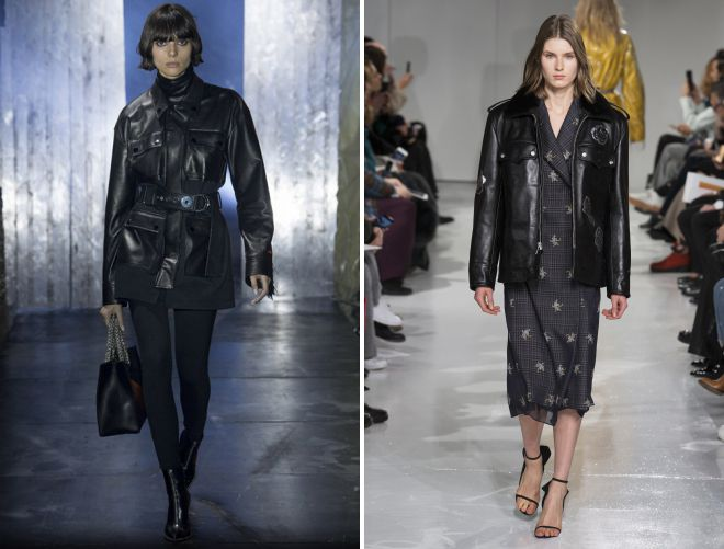 с чем носить женскую удлиненную модную куртку