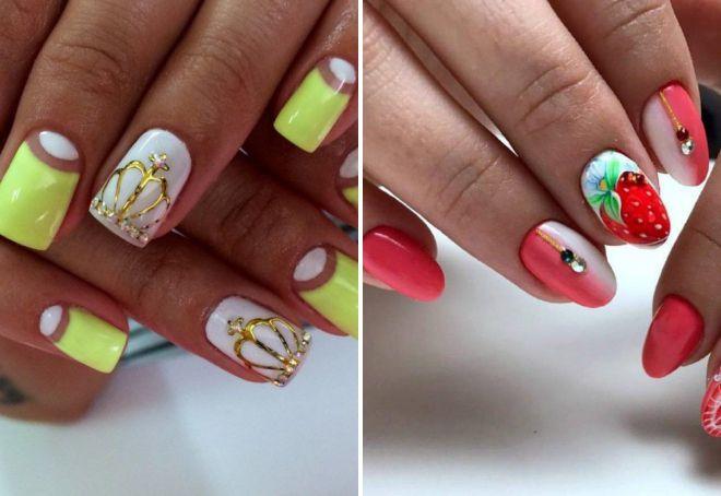 дизайн ногтей лето 2018 модные тенденции