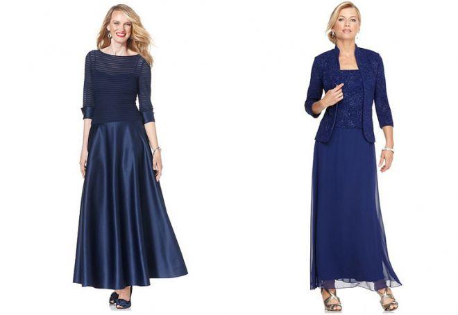 повседневные длинные платья для женщин 40 лет