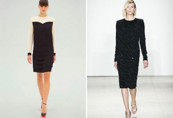 прямые платья 2017