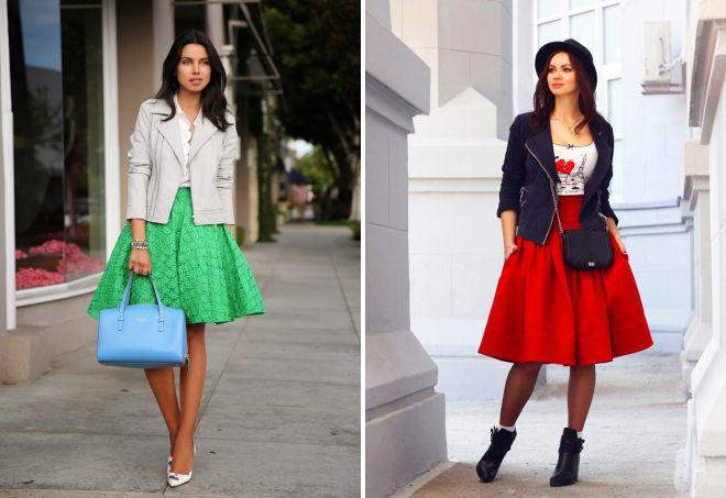 красивые пышные юбки