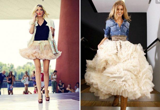 пышные юбки для женщин