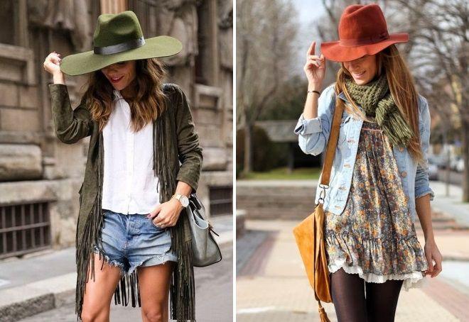 летние шляпы в стиле бохо