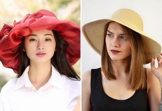 как выбрать женскую летнюю шляпу
