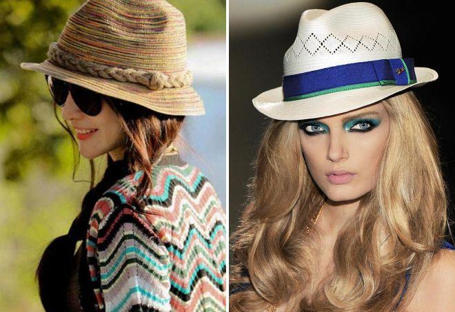 красивые летние шляпы