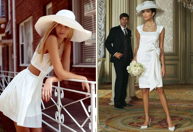 модные образы с летними шляпами